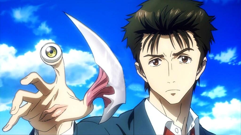 Shinichi Izumi from Parasyte