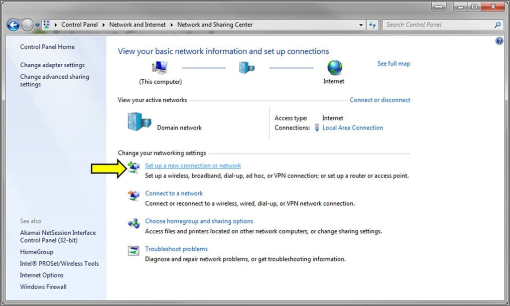 Setting Up New VPN Connection on Windows