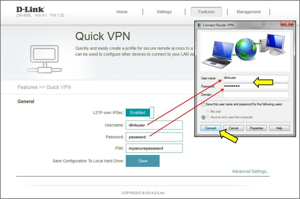 Windows Asking for VPN Connection Credentials