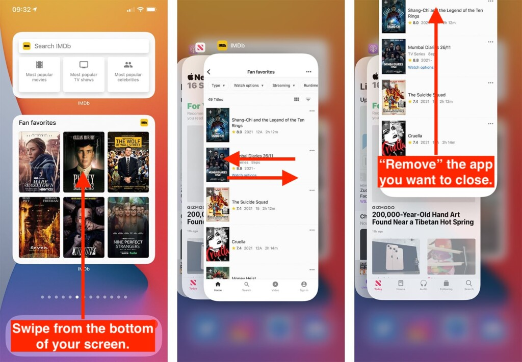 Steps to Close Apps on iPhone