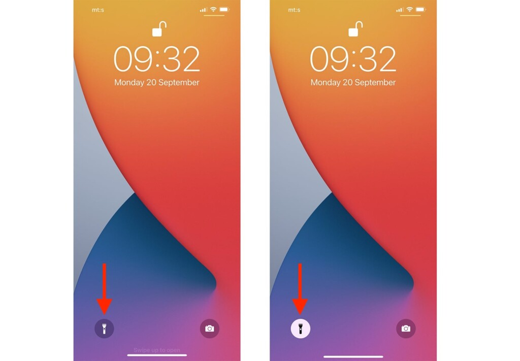 Steps to Control Flashlight on iPhone from Lock Screen
