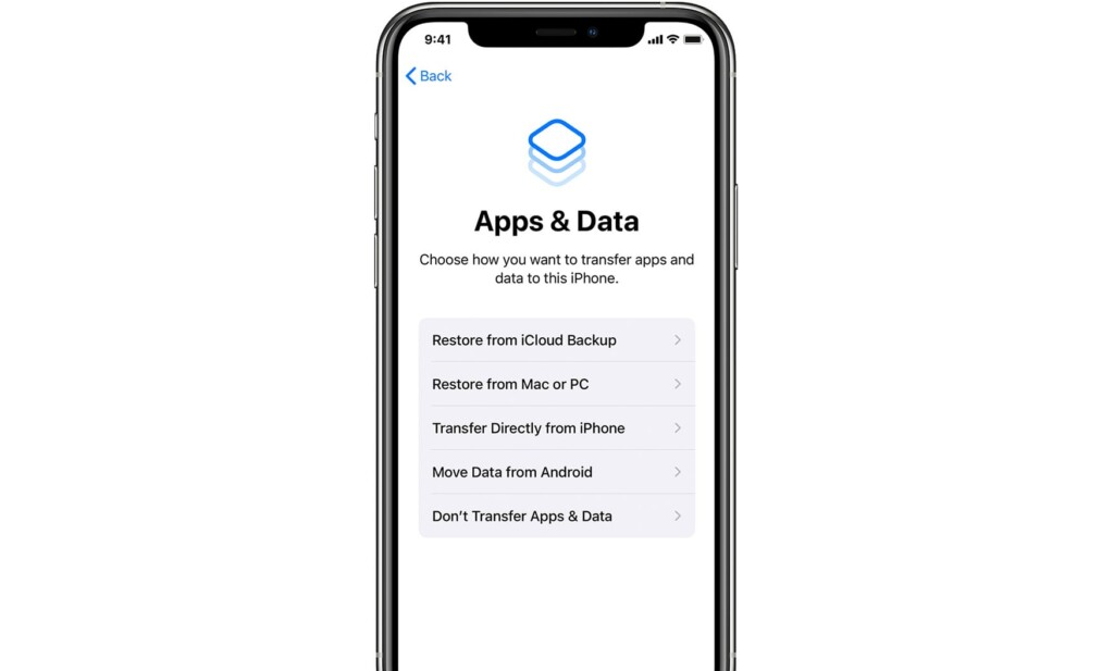 Ways to Transfer Data to New iPhone